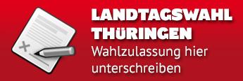 Landtagswahl Thueringen