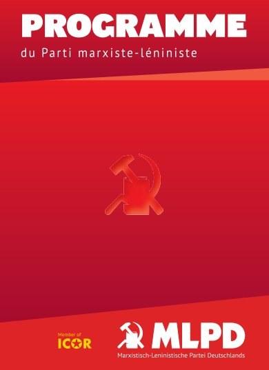 PROGRAMME du Parti marxiste-léniniste (MLPD)