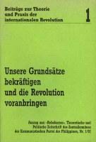 Beiträge zur Theorie und Praxis der internationalen Revolution