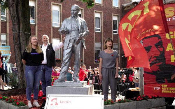 Lenin Feierlichkeit