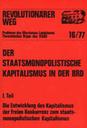 Revolutionärer Weg 16-19 - Der staatsmonopolistische Kapitalismus in der BRD