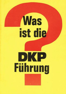 Was ist die DKP Führung?
