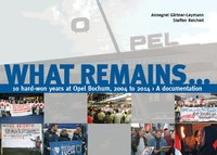 WHAT REMAINS… 10 hard-won years at Opel Bochum, 2004 to 2014 – A documentation