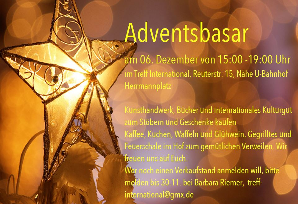 Adventsbasar Berlin 2015