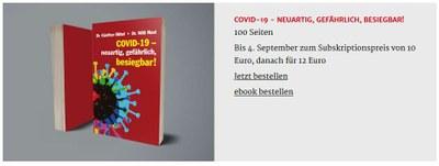 Covid-19 Buchbestellung