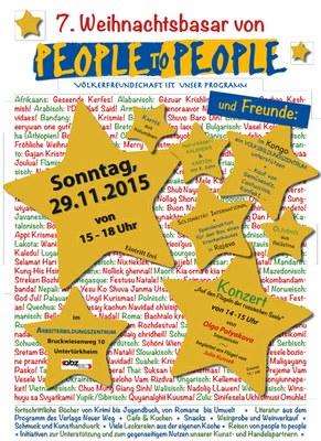 Einladung Adventsbasar Stuttgart 2015
