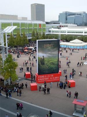 Frankfurter Buchmesse 2012, Messeplatz