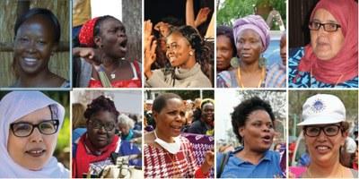 Frauen von Hear our Voice