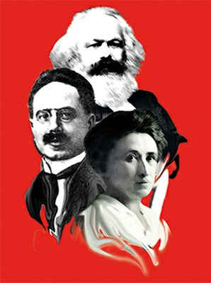 Marx Liebknecht Luxemburg