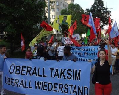 Taksim ist ueberall
