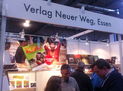 VNW Stand Leipziger Buchmesse 2014